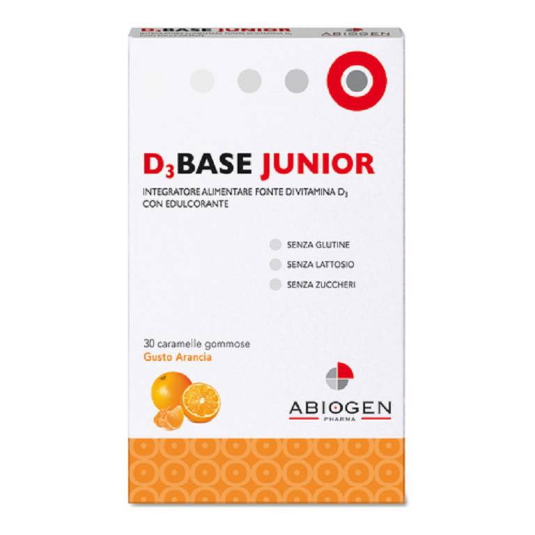D3BASE JUNIOR 30CARAM ARANCIA