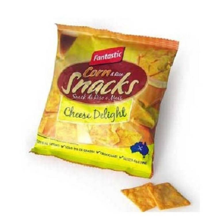 FANTASTIC FOOD Mini Snacks di riso gusto formaggio light 25 g