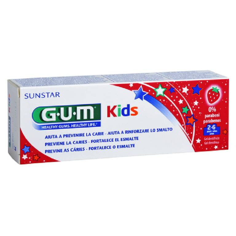 GUM KIDS DENTIF2/6FLUOR 500PPM