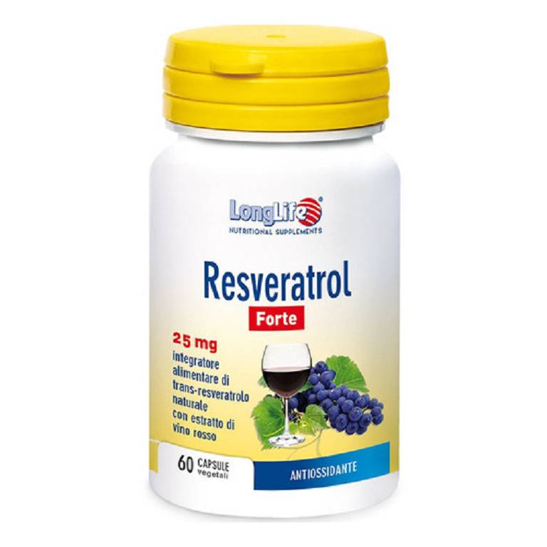 LONGLIFE RESVERATROL FT 60CPS