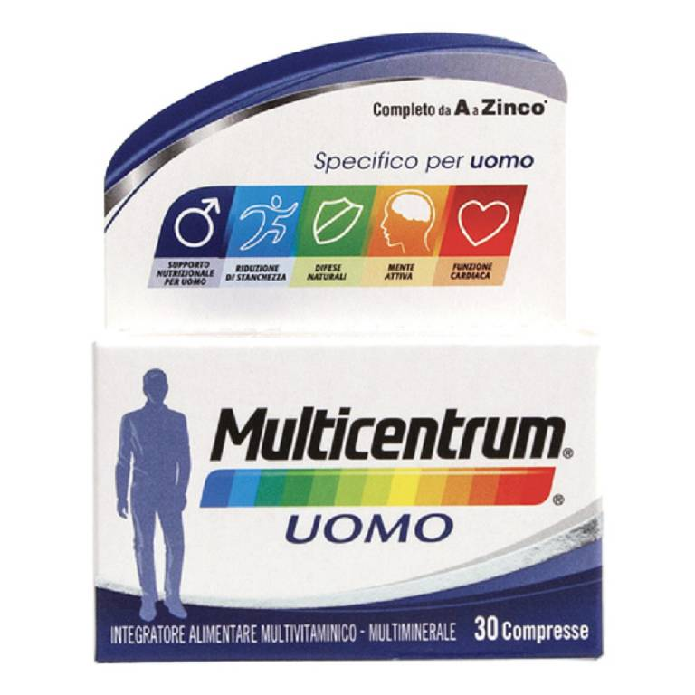 MULTICENTRUM UOMO 30CPR