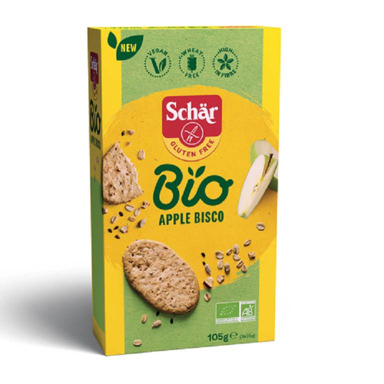 SCHAR BIO APPLE BISCO 105G