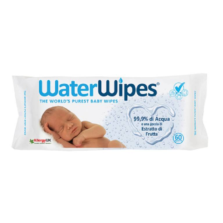 WATERWIPES SALVIETTE 60PZ